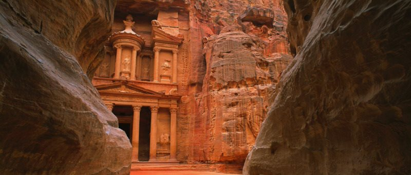 La keznah à Petra en Jordanie