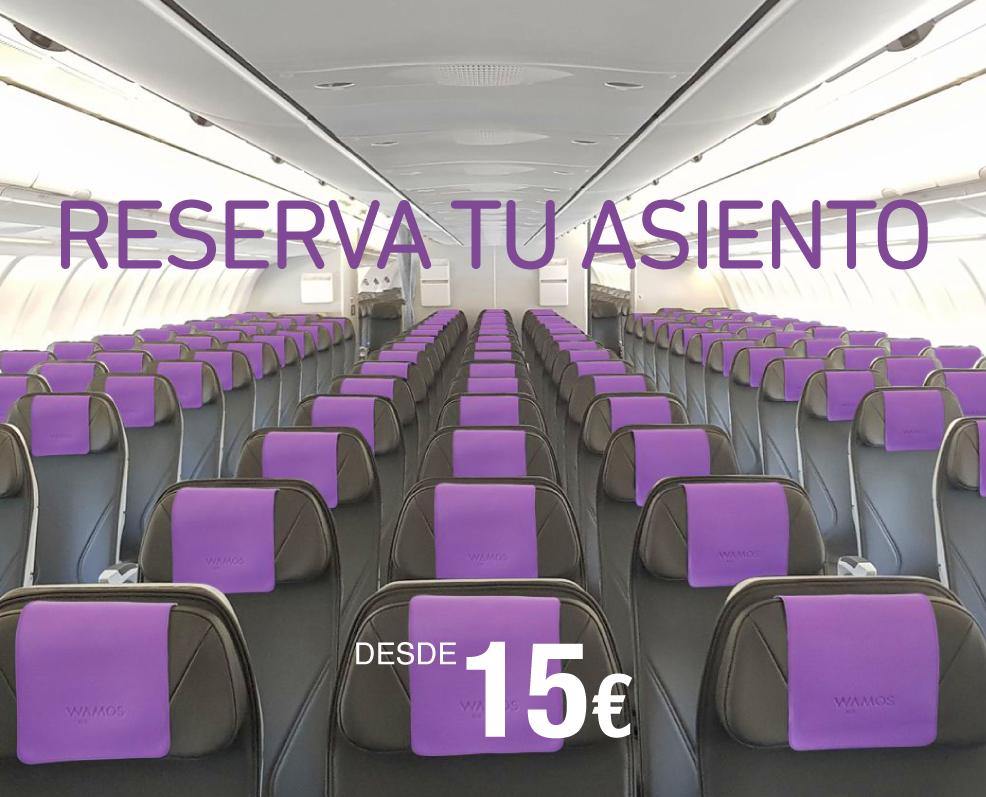 Elige tu asiento