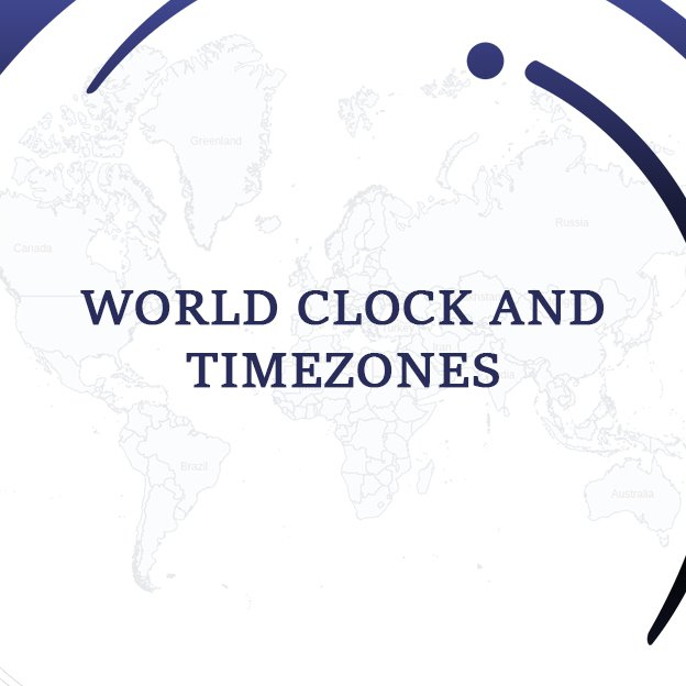 World Clock and Time-zones Thumbnail