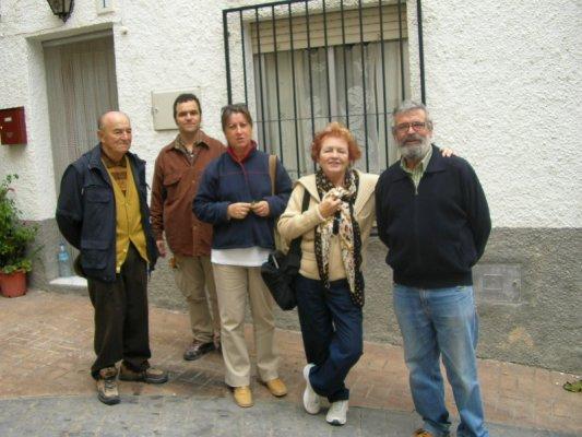 Ramón, Daniel, Floren, Clara y Alfonso